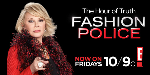 Joan Rivers Fashion Police Funny Courtesy of E